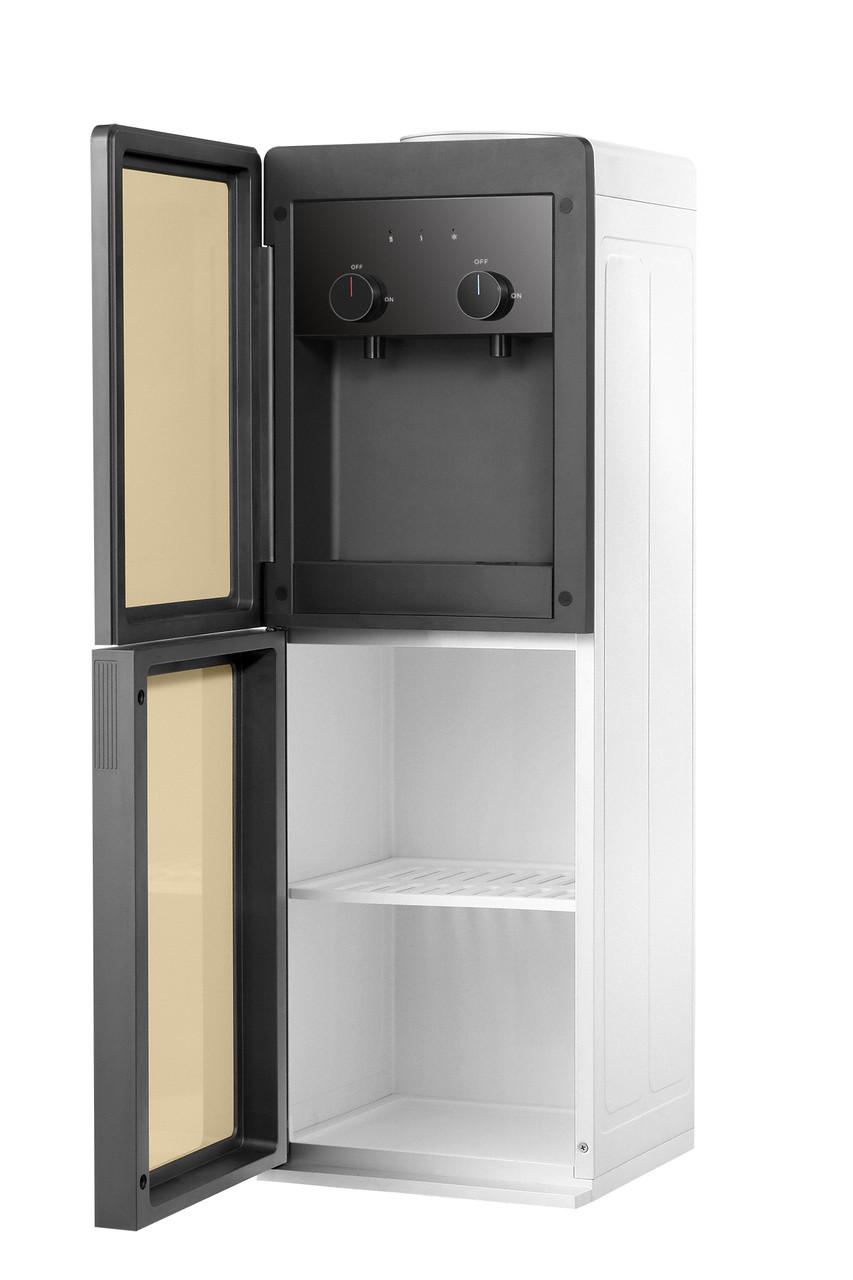 Кулер для воды напольный с верхней загрузкой HotFrost V250CE Gold Электронный+шкафчик