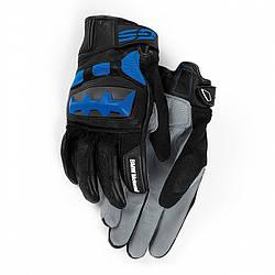 Оригінальні мотоперчатки BMW Motorrad Rallye Glove, Unisex, Black / Blue, артикул 76218395247
