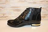 Ботинки женские черные натуральная кожа Д494, фото 2