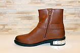 Ботинки женские коричневые Д625, фото 2