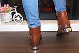 Ботинки женские коричневые Д625, фото 3