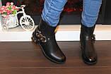 Ботинки женские черные Д626, фото 3
