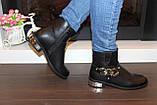 Ботинки женские черные Д626, фото 4