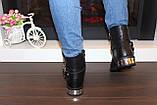 Ботинки женские черные Д626, фото 5