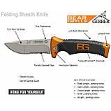 Ніж складний Gerber Bear Grylls Folding Sheath Knife блістер, фото 6