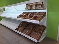 Овощной стеллаж с зеркалом бу.стеллаж для овощей бу., фото 1
