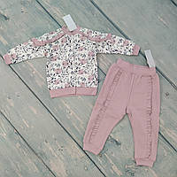 Кофта и штаны для девочки (футер), ТМ Ля-ля