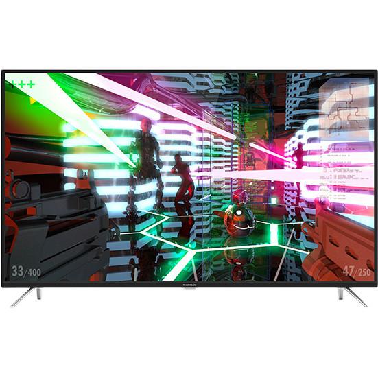 Телевизор Thomson 55UC6326 (РРI 1200Гц / UltraHD / 4K / SmartTV / Dolby Digital Plus/ 2х8Вт,DVB-С/T2/S2)