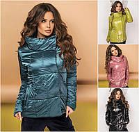 Женская блестящая куртка 2490