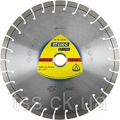 Алмазный отрезной диск DT 600 G SUPRA ГРАНИТ 230x2.6x22.23 (артикул 325162)