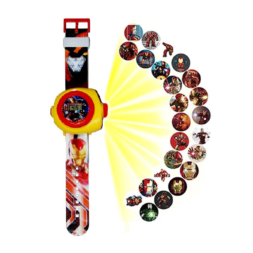 """Детские наручные часы с 3d проектором """"Iron Man (Железный человек)"""""""