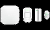 Продвинутый стартовый комплект системы безопасности Ajax. Для защиты дома, квартиры, офиса Белый