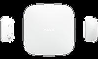 Інтелектуальна централь Ajax Hub Plus GSM 2 SIM + Ethernet + Wi-Fi. 150 датчикiв, 25 груп