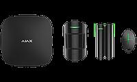 Продвинутый стартовый комплект системы безопасности Ajax. Для защиты дома, квартиры, офиса Черный