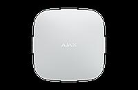 Інтелектуальна централь Ajax Hub 2. GSM 2 SIM + Ethernet. 100 датчикiв, 9 груп. MotionCam