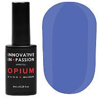Гель-лак Innovative in Passion серия Opium № 021 (темно-васильковый, эмаль), 8 мл