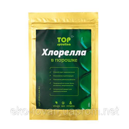 Хлорелла в порошке Organic (Top-Spirulina) 100г