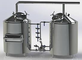 Двух-агрегатный варочный порядок | 200 л. за варку (2VP-200)