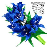 Квітка на обручі, весна, дзвіночок ручної роботи Будь-які кольори