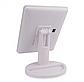 Настільне дзеркало для макіяжу з підсвічуванням 22 LED сенсорне біле, фото 5