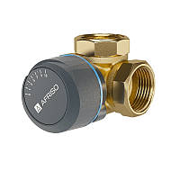 """Трехходовой клапан DN25, Rp 1"""", kvs 10  ARV 384 ProClick Afriso (Германия)"""