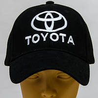 Кепка бейсболка с логотипом Тойота машинная вышивка на заказ