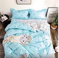 Двухспальный комплект постельного белья из бязи.