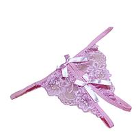 Трусики женские с доступом. Новые женские прозрачные трусики с бантиком Розовый