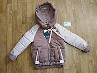 Детская демисезонная курточка для девочек, фото 1