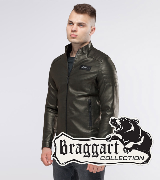 Braggart Youth   Куртка осенняя 36361 хаки