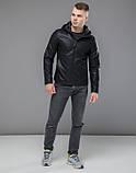 Braggart Youth | Куртка экокожа 15353 черный, фото 3