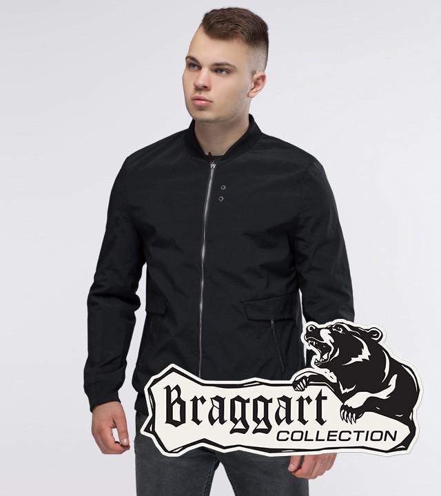 Braggart Youth   Бомбер осенний 32488 черный