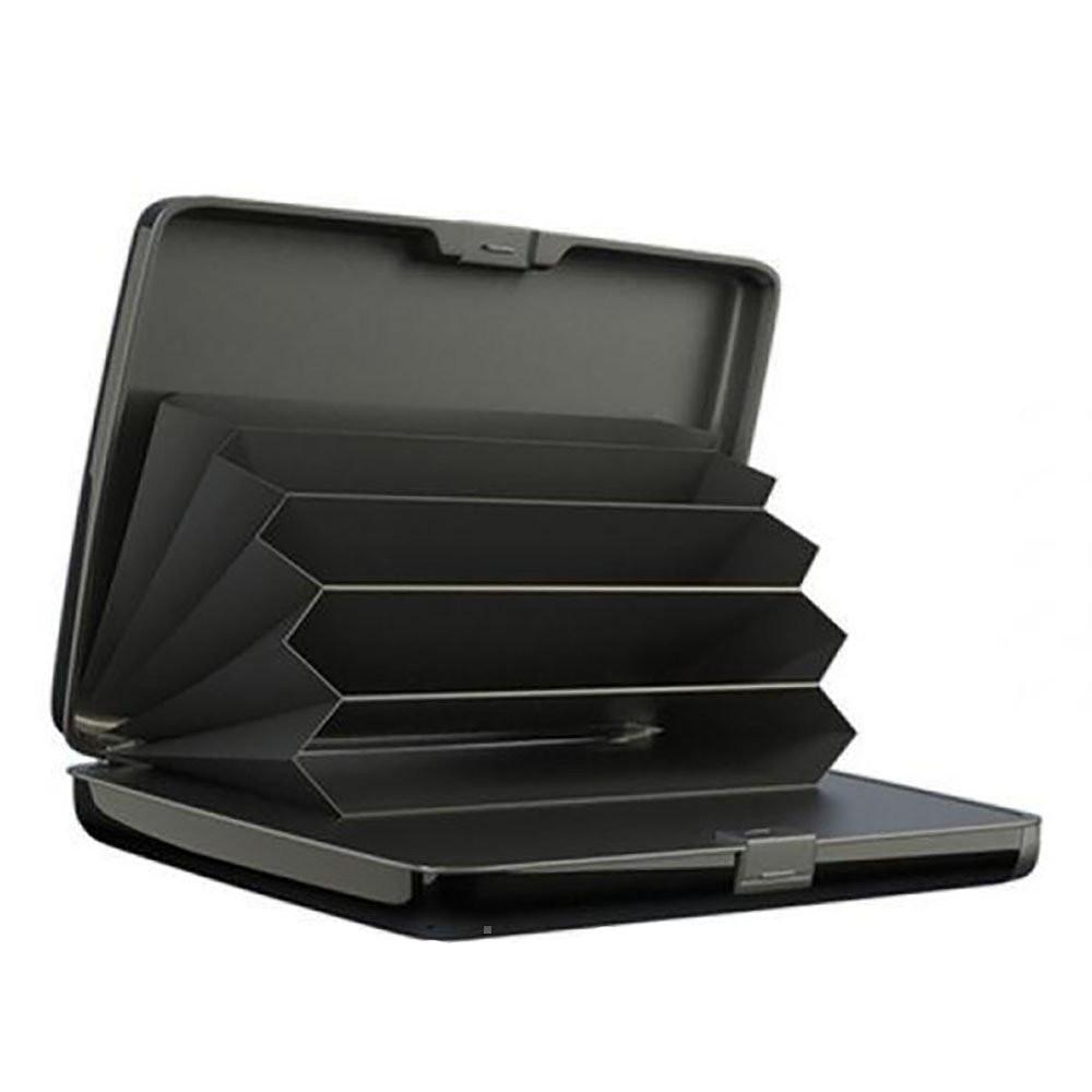Умный кошелек с зарядным устройством E-CHARGE Wallet Power Bank 10000 мАч Черный (vd89)