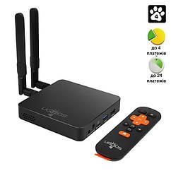 Медиаплеер Ugoos AM6 Pro S922X  андроид тв бокс приставка 4GB + 32GB