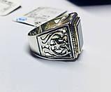 Серебряная печатка с ониксом Луиджи, фото 4
