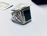 Серебряная печатка с ониксом Луиджи, фото 8