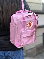 Рюкзак Fjallraven Kanken mini 7L  Канкен мини 7л  розовый