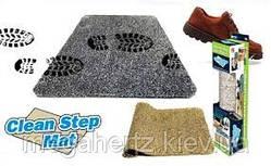 Впитывающий придверный коврик Clean Step Mat
