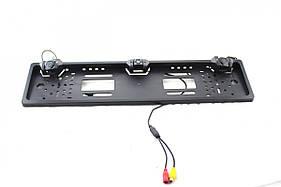 Автокамера рамка для номера  CAR CAM. + parking sensor