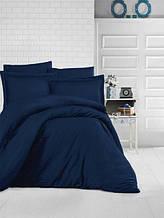 Комплект постельного белья Aran Clasy delux ранфорс 200*220  LACIVERT