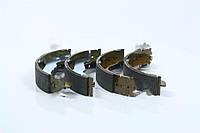 Колодки тормозные барабанные HYUNDAI ELANTRA/LANTRA 90-95, COUPE 1.6, MATRIX задние (SANGSIN).