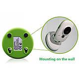 Видеоняня Video baby Monitor с функцией ночного видения и датчиком температуры Бело-зеленый (LS101005359), фото 6