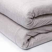 Матрас Футон Lintex (зима/лето) 160х200х5 см., ткань лен, серый
