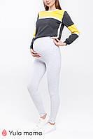 Лосины для беременных HILLA NEW 12.39.022, серые, фото 1