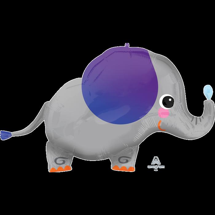 """A  34"""" Jungle Fun Elephant Слоник Веселые джунгли, В УП"""