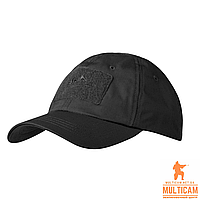 Бейсболка Helikon-Tex® BBC Cap - PolyCotton Ripstop - Black
