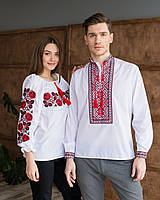 Вишиванки для пари сорочкова тканина