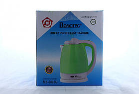 Чайник Domotec MS 5025 Зеленый 220V/1500W