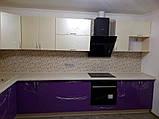 Дизайнерская кухня под заказ синяя прованс изготовление по индивидуальным размерам, фото 8