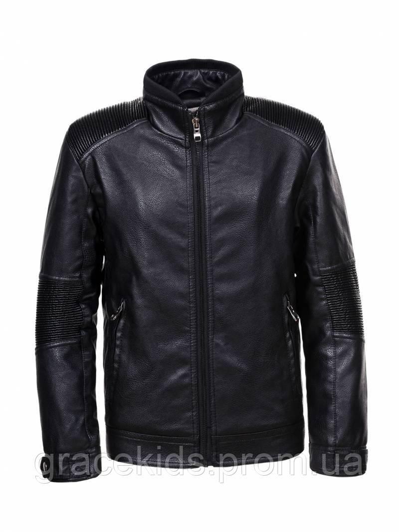 Стильные кожаные куртки для мальчиков Glo-story,разм 134-164 см